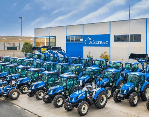 cuales son los tipos de tractores de altrac