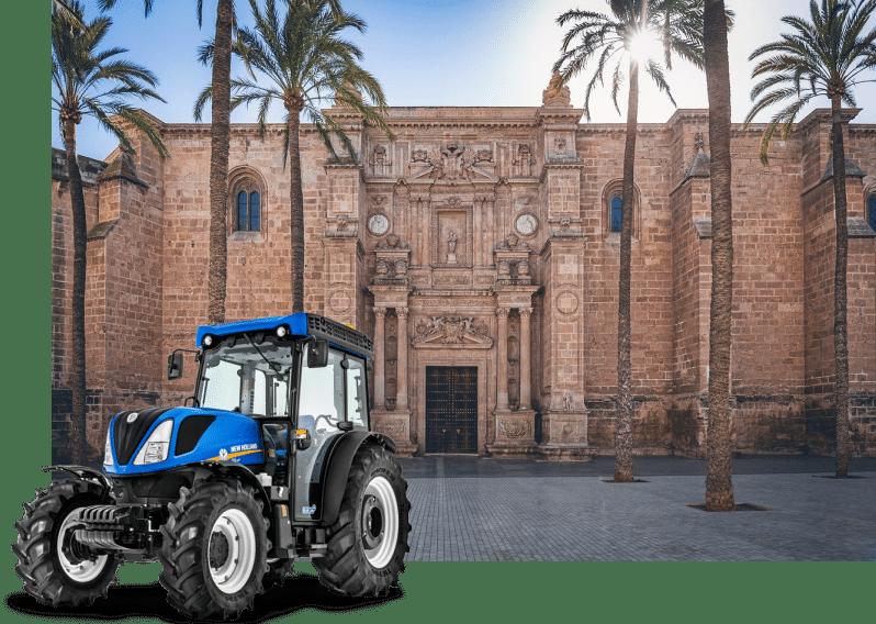 alquiler de tractores en almería