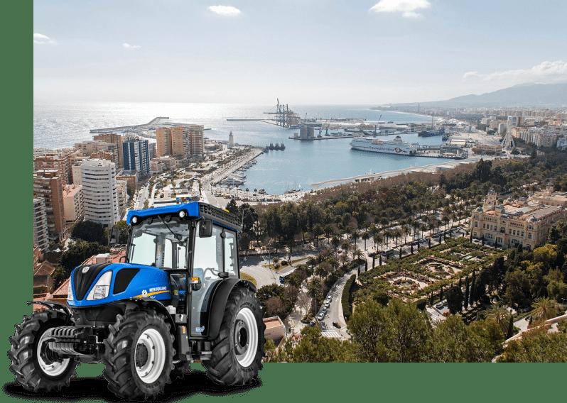 alquiler tractores en malaga