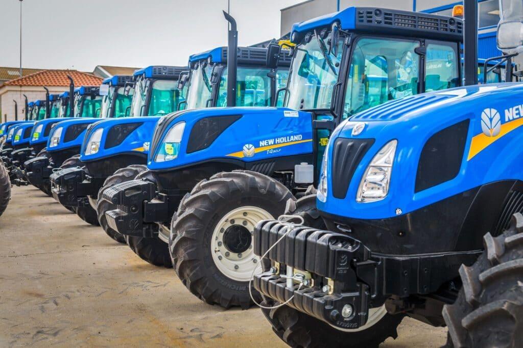 Clasificación de tractores agrícolas