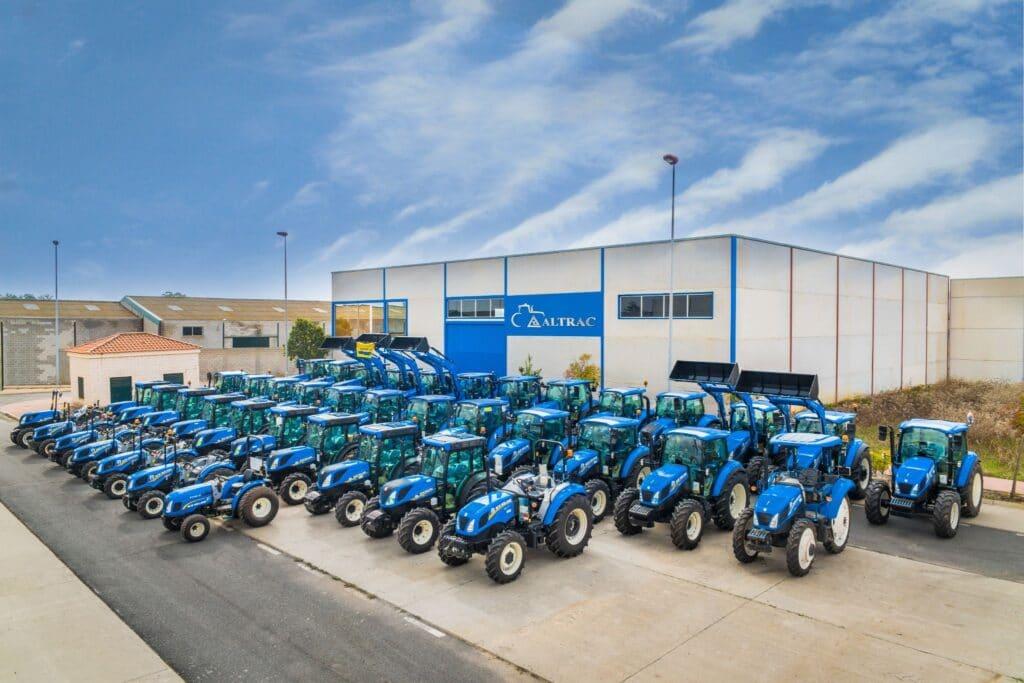 Sistemas de navegación GPS para tractores