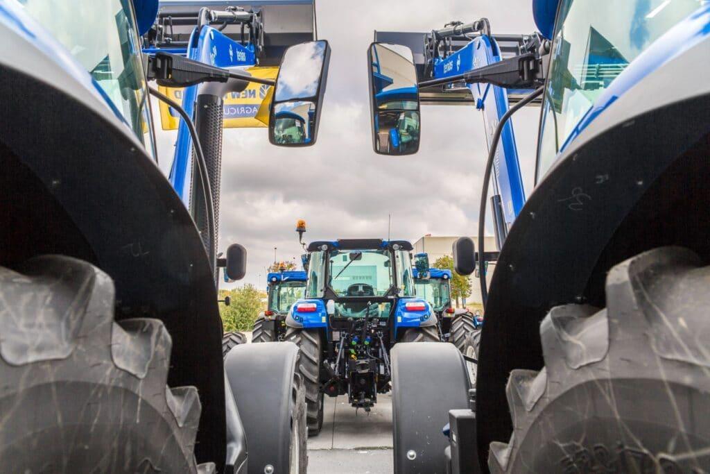 clasificación de tractores especializados