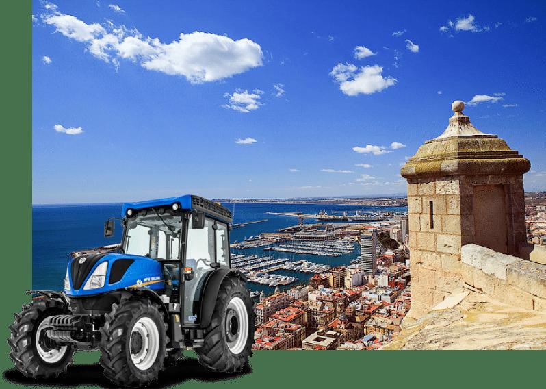 alquiler de tractores alicante