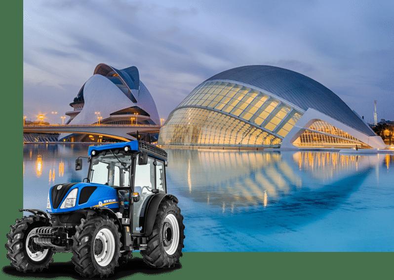 alquiler de tractores en valencia